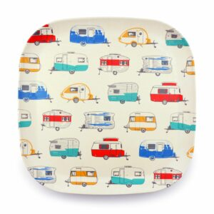 campingservies bord bamboe caravans van go collections